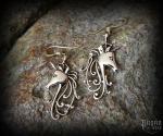 Hook earrings Unicorn Nimo - bronze