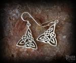 Hook earrings Celtic Tunga - 925 sterling silver