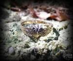 Ring Owl Noctia - bronze