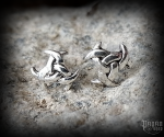 Stud earrings Triple horn Ingirun - 925 sterling silver