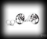 Stud earrings Tree Leah - 925 sterling silver