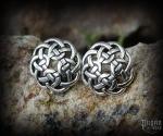Stud earrings Celtic Ceit - 925 sterling silver