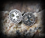 Stud earrings Tree of life Yggdrasil - 925 sterling silver