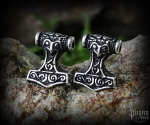 Stud earrings Thor's hammer Thorthal - 925 sterling silver