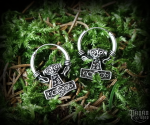 Creole Thor's hammer Thorhawk - 925 sterling silver