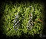 Hook earrings Celtic Neala - 925 sterling silver