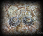 Hook earrings Viking Farne - 925 sterling silver
