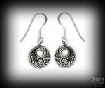 Hook earrings Viking Aylin - 925 sterling silver