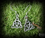 Hook earrings Triqueta Daibhi - 925 sterling silver