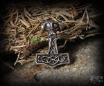 Přívěsek Thorovo kladivo Thorfrethr - bronz