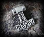 Pendant Thor's hammer Thorrir - 925 sterling silver