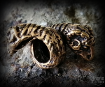 Beard bead Ram's head Bailey - bronze