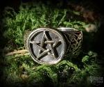 Ring Pentagram Àsvar - bronze