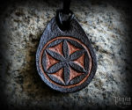 Pendant Svarga Adrik - leather