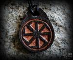 Pendant Kolovrat Darko - leather