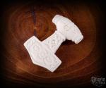 Pendant Thor's hammer Torkan - bone