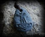 Pendant Thor's hammer - lava stone