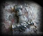 Pendant Thor's hammer Jörmungandr - 316L