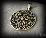 Přívěsek Vegvisir Ísar - bronz