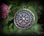 Pendant Vegvisir Ísar - 925 sterling silver