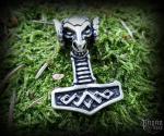Pendant Thor's hammer Vaeret - 925 sterling silver - 11 g