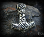 Pendant Thor's hammer Magni - 925 sterling silver - 10 g