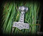 Pendant Thor's hammer Thoran - 316L