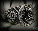Prsten Thorovo kladivo Ruthar - Ag 925/1000 - 10 g