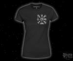 Women's T-shirt Vegvisir - white print