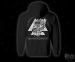 Mikina zip s kapucí Odin the High One