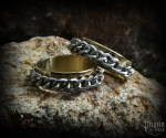 Ring Chain - golden - 316L