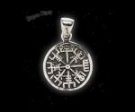 Pendant Vegvisir Aliza - 925 sterling silver