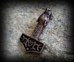 Přívěsek Thorovo kladivo Ulv - bronz