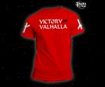 Triko Victory or Valhalla červené