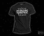 T-shirt Celtic heart