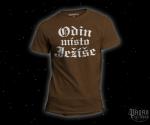 Triko Odin místo Ježíše hnědé