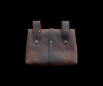 Early medieval belt bag with fittings