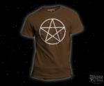 Triko Pentagram hnědé