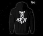 Zip hoodie Victory or Valhalla