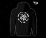 Zip hoodie Viking Raven