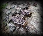 Přívěsek Thorovo kladivo Tølír - bronz