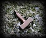 Pendant Thor's hammer Lund - bronze