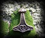 Pendant Thor's hammer Sikval - bronze