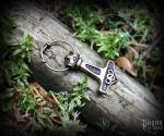Pendant Thor's hammer Berserker - bronze