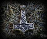 Přívěsek Thorovo kladivo Thumír - bronz