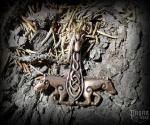 Pendant Thor's hammer Araton - bronze