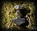 Pendant Thor's hammer Ragnarok - bronze