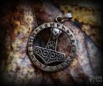 Pendant Thor's hammer Ruthar - bronze