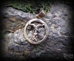 Pendant Irminsul Kult - bronze