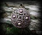 Pendant Celtic cross Zizar - bronze